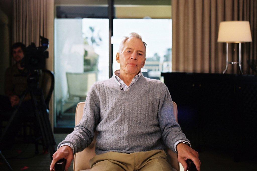 Bob Durst prepares for his interview